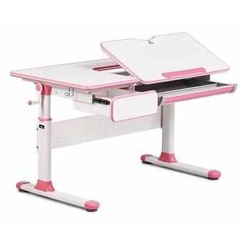 Regulowane biurko dziecięce z pochylanym blatem Toru