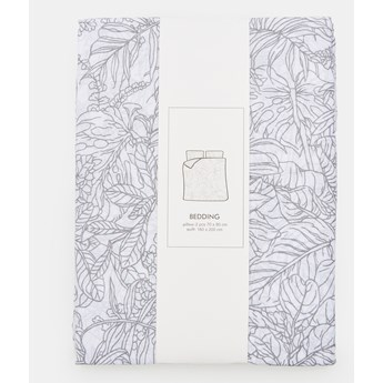 Sinsay - Komplet bawełnianej pościeli - Biały