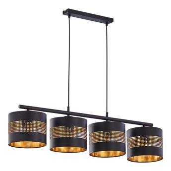 Lampa wisząca Tago czarna 4 x E27 TK Lighting