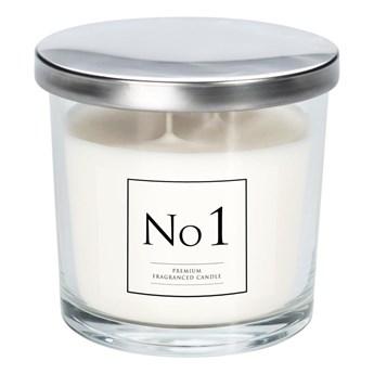 Świeca zapachowa w szkle z dwoma knotami No 1 brzoskwinia, karmel