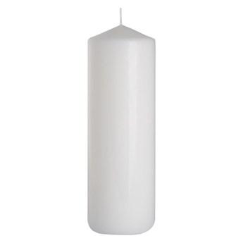 Świeca pieńkowa biała wys. 25 cm