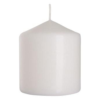 Świeca pieńkowa biała wys. 9 cm