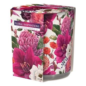 Świeca zapachowa w szkle Floral Inspirations kokos z nutą ozonu