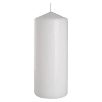 Świeca pieńkowa biała wys. 20 cm