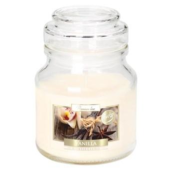 Świeca zapachowa w słoju Vanilla wanilia