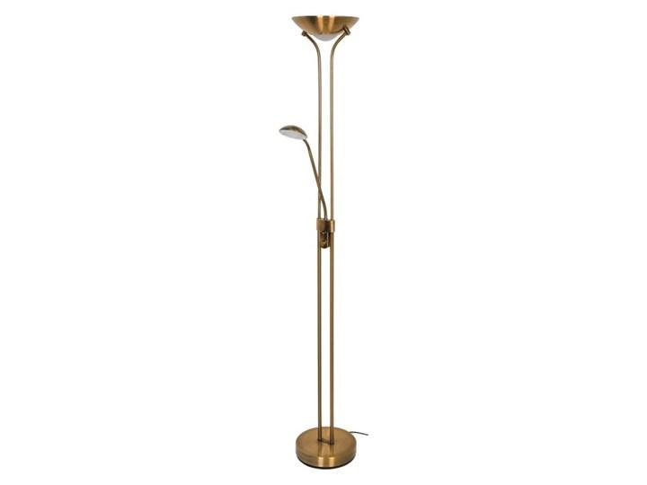 Lampa podłogowa LED GoodHome Pulmoz antyczny brąz Lampa LED Kategoria Lampy podłogowe Metal Styl Glamour