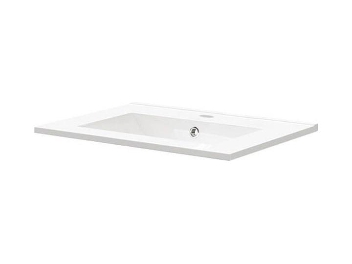 Umywalka ceramiczna 61,5 x 46 cm Ceramika Prostokątne Szerokość 61 cm Kategoria Umywalki