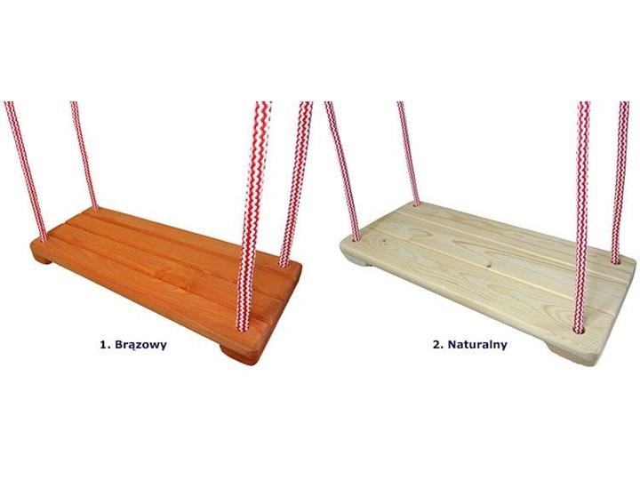 Huśtawka dziecięca Bambi - naturalna Drewno Trapez Kategoria Huśtawki dla dzieci