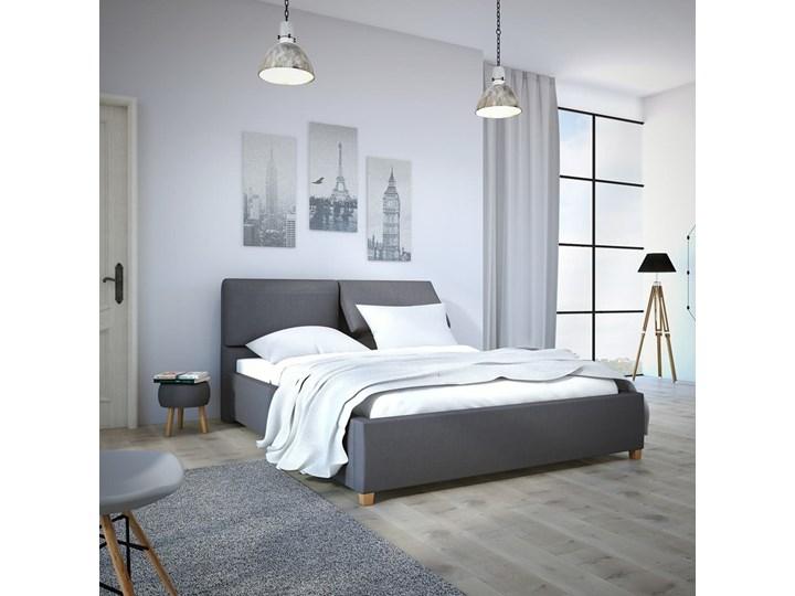 Łóżko Infiniti 140x200 cm Tkaniny Infinity Tak Łóżko tapicerowane Rozmiar materaca 160x200 cm Pojemnik na pościel Bez pojemnika