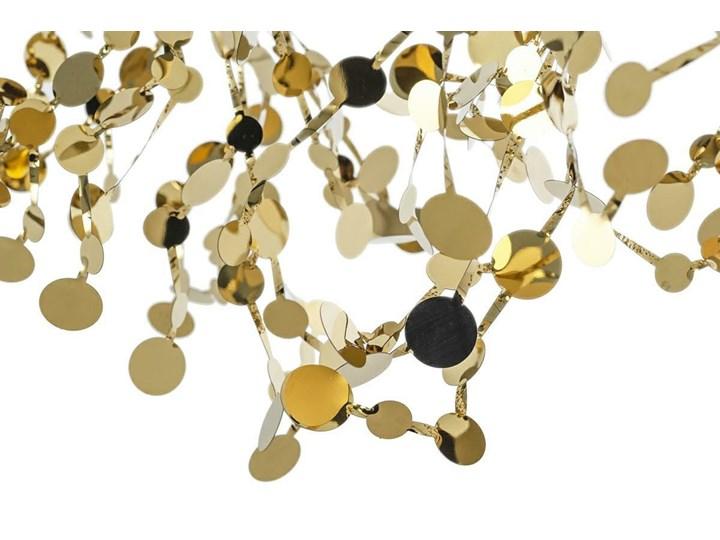 Lampa wisząca Monete złota single Metal Stal Lampa z kloszem Ilość źródeł światła 3 źródła
