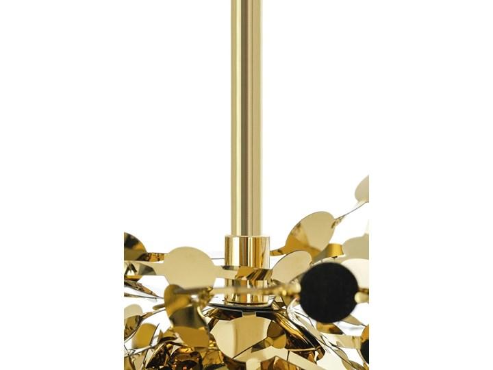 Lampa wisząca Monete złota single Metal Lampa z kloszem Stal Kategoria Lampy wiszące
