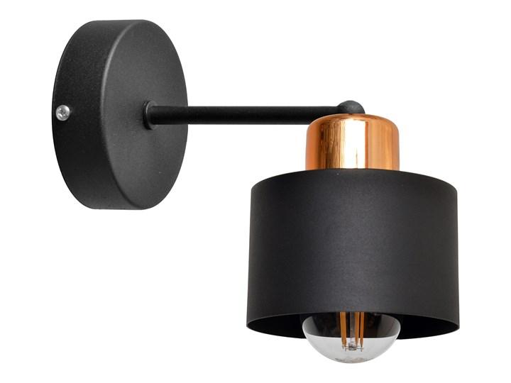 Kinkiet krótki EDISON II KK-1360/1 BK+BR Kategoria Lampy ścienne