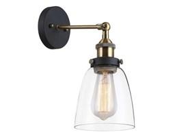 Kinkiet LAMPA ścienna FRANCIS MBM-2563/1 Italux industrialna OPRAWA szklana przezroczysta