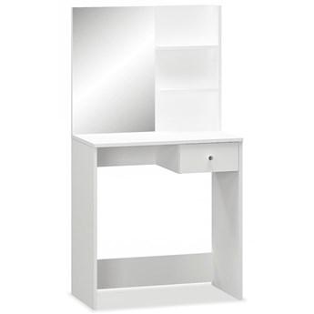 vidaXL Toaletka, 75 x 40 x 141 cm , płyta wiórowa, biała