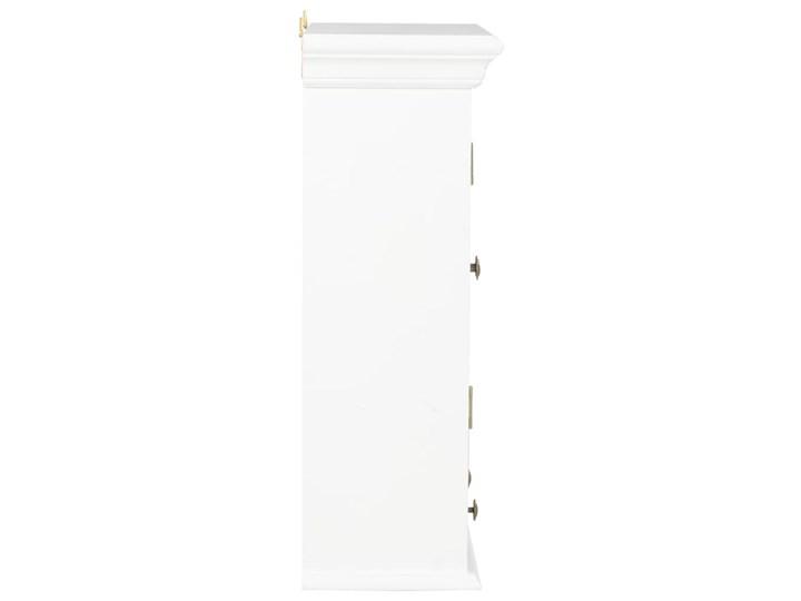vidaXL Szafka wisząca, biała, 49 x 22 x 59 cm, lite drewno Kategoria Szafki kuchenne