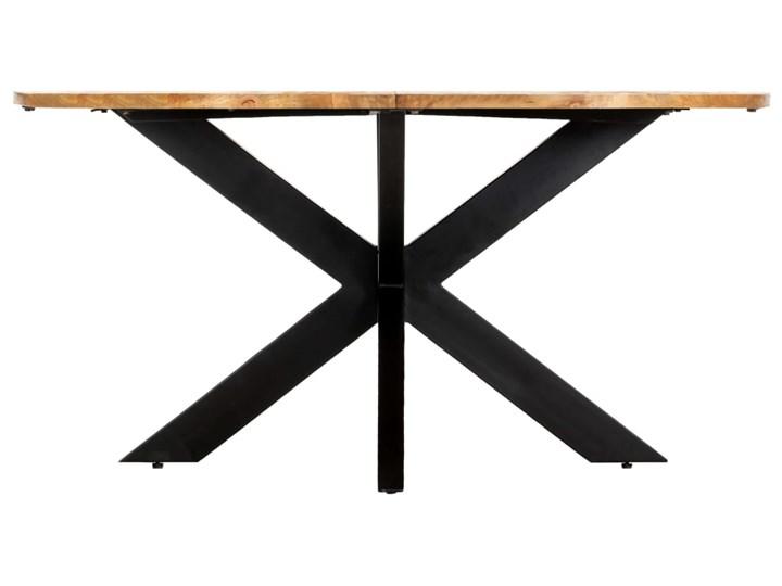 vidaXL Stół jadalniany, okrągły, 150 x 76 cm, lite drewno mango Długość 150 cm  Pomieszczenie Stoły do kuchni Kategoria Stoły kuchenne