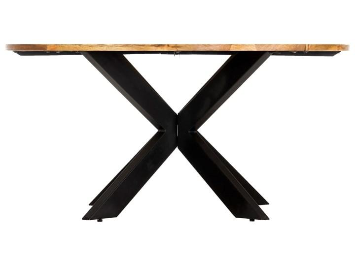 vidaXL Stół jadalniany, okrągły, 150 x 76 cm, lite drewno mango Długość 150 cm  Kategoria Stoły kuchenne Pomieszczenie Stoły do kuchni