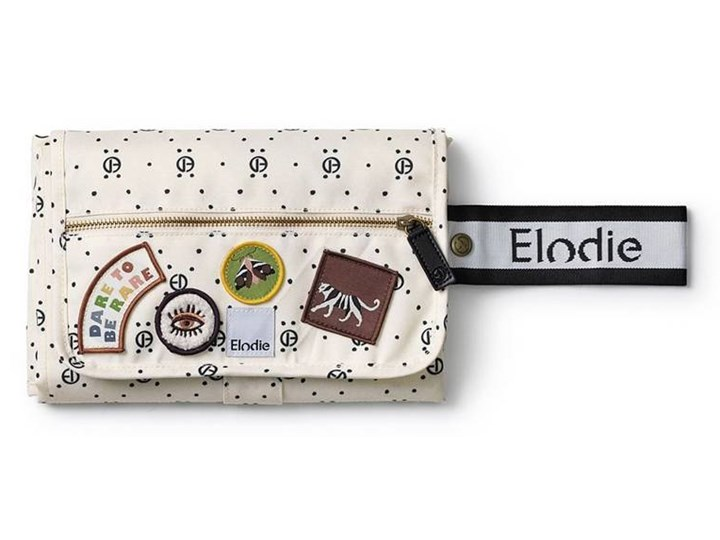 Elodie Details - Przewijak - Monogram Print Kolor Beżowy