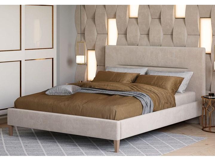 ŁÓŻKO TAPICEROWANE DO SYPIALNI 180X200 - KAROLINA - KOLORY Kategoria Łóżka do sypialni Kolor Szary