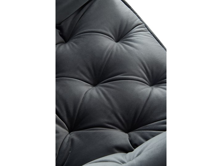 KRZESŁO TAPICEROWANE ▪️ BEN (DC-9220) ▪️ WELUR 10 Pikowane Tworzywo sztuczne Pomieszczenie Salon Z podłokietnikiem Metal Tkanina Stal Kategoria Krzesła kuchenne