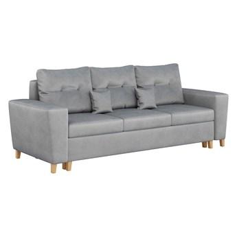 Sofa nowoczesna z funkcją spania i pojemnikiem - ELIO - kolory do wyboru