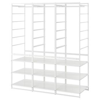 IKEA JONAXEL Kombinacja szafy, biały, 148x51x173 cm