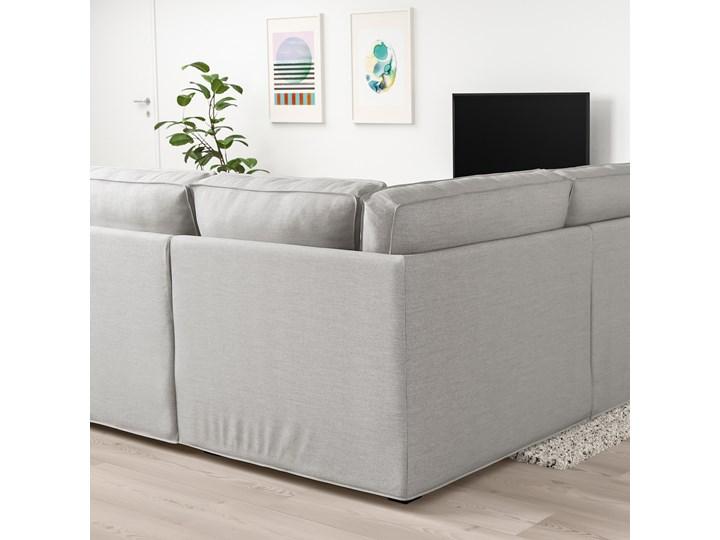 IKEA KIVIK Sofa narożna 5-osobowa, Orrsta jasnoszary, Głębokość: 95 cm Prawostronne Lewostronne Rozkładanie