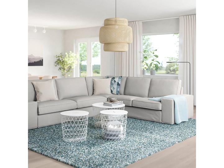 IKEA KIVIK Sofa narożna 5-osobowa, Orrsta jasnoszary, Głębokość: 95 cm Lewostronne Prawostronne Liczba miejsc Pięcioosobowy i więcej