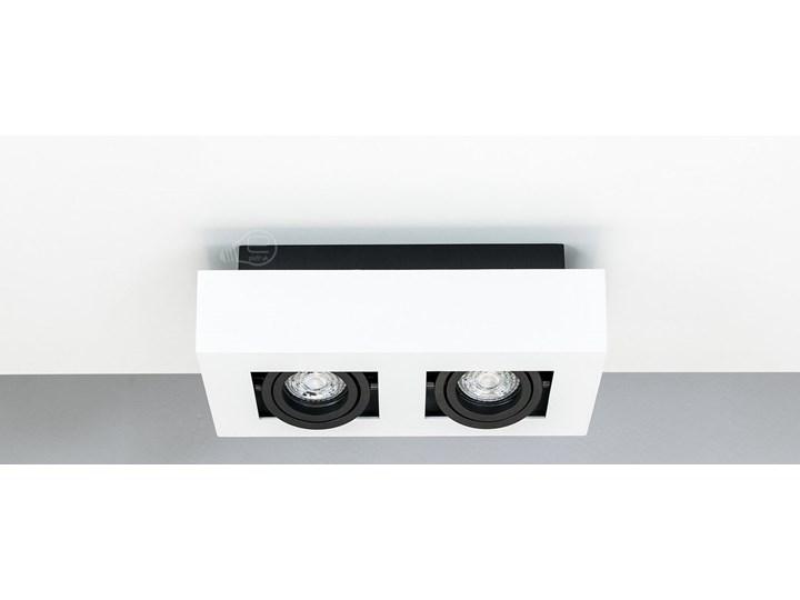 Lampa sufitowa natynkowa OSMIN 2 White IP20 kwadratowa podwójna biało - czarna mat EDO777145 EDO Oprawa stropowa Prostokątne Kwadratowe Kolor Czarny Kolor Biały