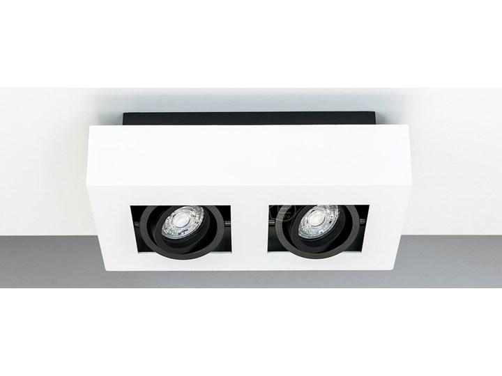 Lampa sufitowa natynkowa OSMIN 2 White IP20 kwadratowa podwójna biało - czarna mat EDO777145 EDO Prostokątne Kwadratowe Kolor Biały Oprawa stropowa Kolor Czarny