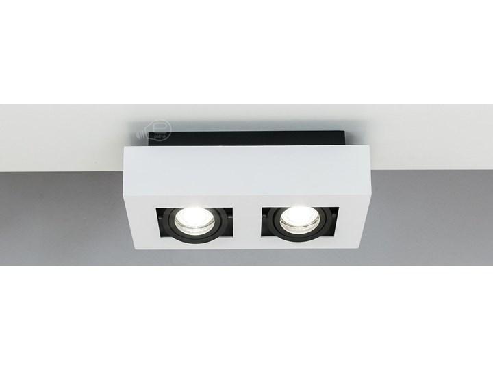 Lampa sufitowa natynkowa OSMIN 2 White IP20 kwadratowa podwójna biało - czarna mat EDO777145 EDO Oprawa stropowa Kwadratowe Prostokątne Kolor Czarny Kolor Biały
