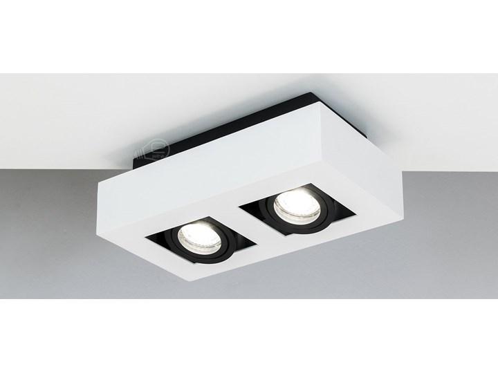 Lampa sufitowa natynkowa OSMIN 2 White IP20 kwadratowa podwójna biało - czarna mat EDO777145 EDO Prostokątne Kwadratowe Oprawa stropowa Kolor Biały