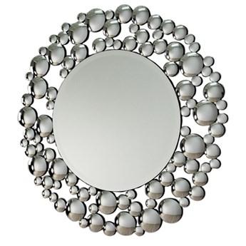 Okrągłe lustro w ramie z mniejszych lusterek 13TM056