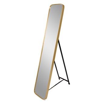 Lustro stojące w złotej ramie 151 x 31 x 4 cm. 16F-575