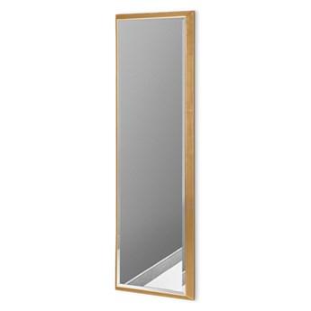 Nowoczesne lustro w złotej ramie 23 x 83 cm 12F-390