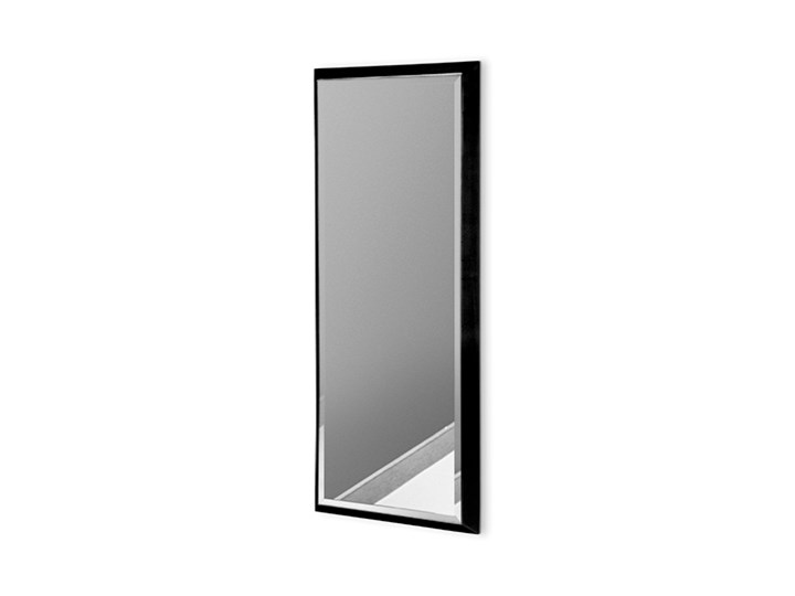 Nowoczesne lustro w czarnej ramie 18 x 53 cm 12F-390 Prostokątne Ścienne Lustro z ramą Kolor Czarny