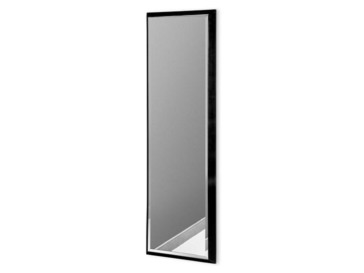 Nowoczesne lustro w czarnej ramie 23 x 83 cm 12F-390