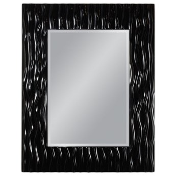 Lustro w czarnej oprawie 78x98 PU-121-1 outlet