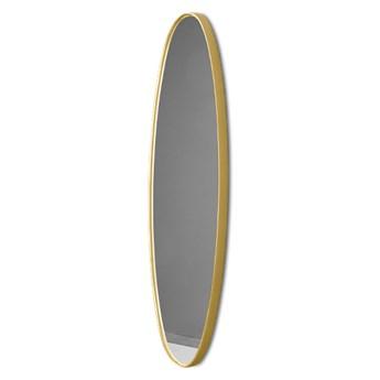 Podłużne lustro w złotej ramie 21 x 77 x 4 cm 16F-572