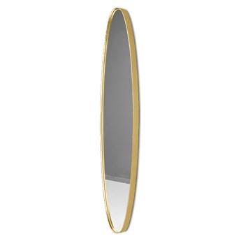 Podłużne lustro w złotej ramie 25 x 119 x 4 cm 16F-572