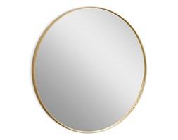 Okrągłe lustro w złotej oprawie Ø 80 x 4 cm 16F-572
