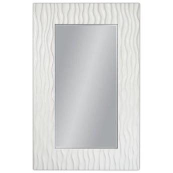 Lustro w białej strukturalnej oprawie 100x160 PU-121 P outlet