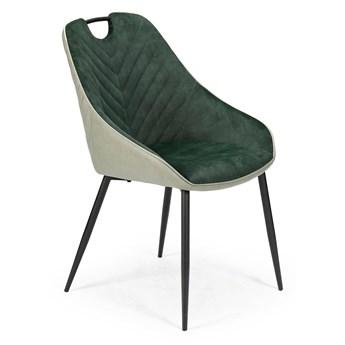 Tapicerowane krzesło z uchwytem K412