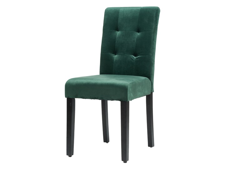 KRZESŁO TAPICEROWANE DREWNIANE MY8683 WELUR ZIELONY Kategoria Krzesła kuchenne Tkanina Drewno Styl Nowoczesny