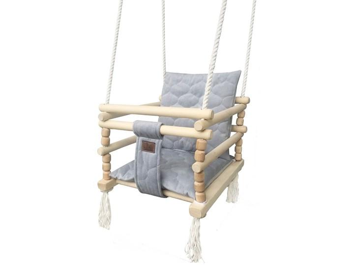 Drewniana huśtawka 3w1 dla dziecka - Dingo Kubełkowa Drewno Kategoria Huśtawki dla dzieci