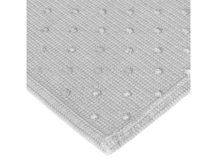 Dywanik łazienkowy Miekki 60x40 cm jasnoszary Prostokątny 40x60 cm Kategoria Dywaniki łazienkowe
