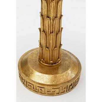Świecznik Palm Tree 23x37 cm złoty