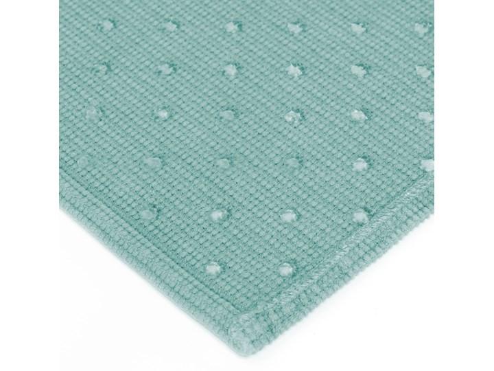 Dywanik łazienkowy Miekki 60x40 cm jasnoturkusowy Prostokątny 40x60 cm Kategoria Dywaniki łazienkowe Bawełna Kolor Miętowy