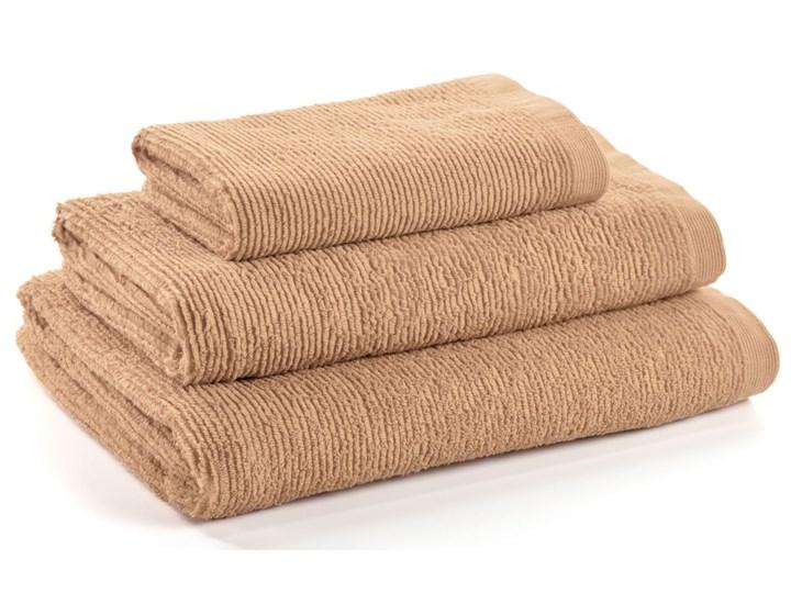 Ręcznik łazienkowy Miekki 150x95 cm beżowy Ręcznik kąpielowy 50x100 cm Bawełna 40x70 cm Komplet ręczników 95x150 cm Kategoria Ręczniki
