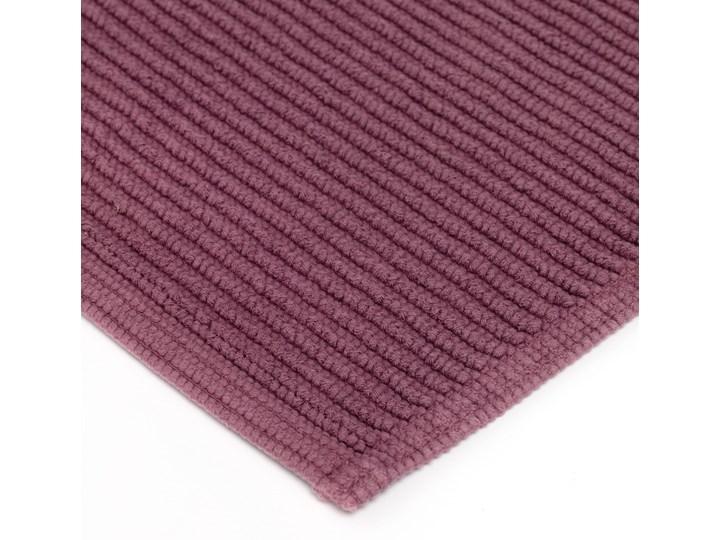 Dywanik łazienkowy Miekki 60x40 cm burgundowy 40x60 cm Prostokątny Bawełna Kategoria Dywaniki łazienkowe Kolor Fioletowy